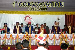 1st Convocation